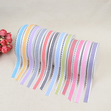 DIY Headwear Clothing Shoes Lace Ribbon Accessories 1.5cm * 20 Yards Nail Woven Cake Gift Box Ultrasonic Embossed Belt