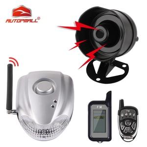 Image 1 - DIYV2 alarma bidireccional para coche, sistema de seguridad automático con alarma inalámbrica de sirena, sin cables, conexión a coche DC 12 24V
