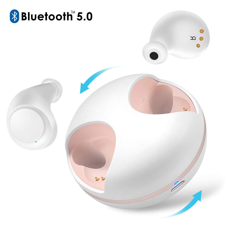 Nouveau W1-2 mini bluetooth 5.0 TWS IPX5 étanche et sueur écouteur avec boîte de charge pour téléphone mobile IOS Android