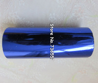 1Rolls Blue Color 160mmx120M Hot Stamping Foil Heat Transfer Napkin Gilding PVC Business Card Emboss