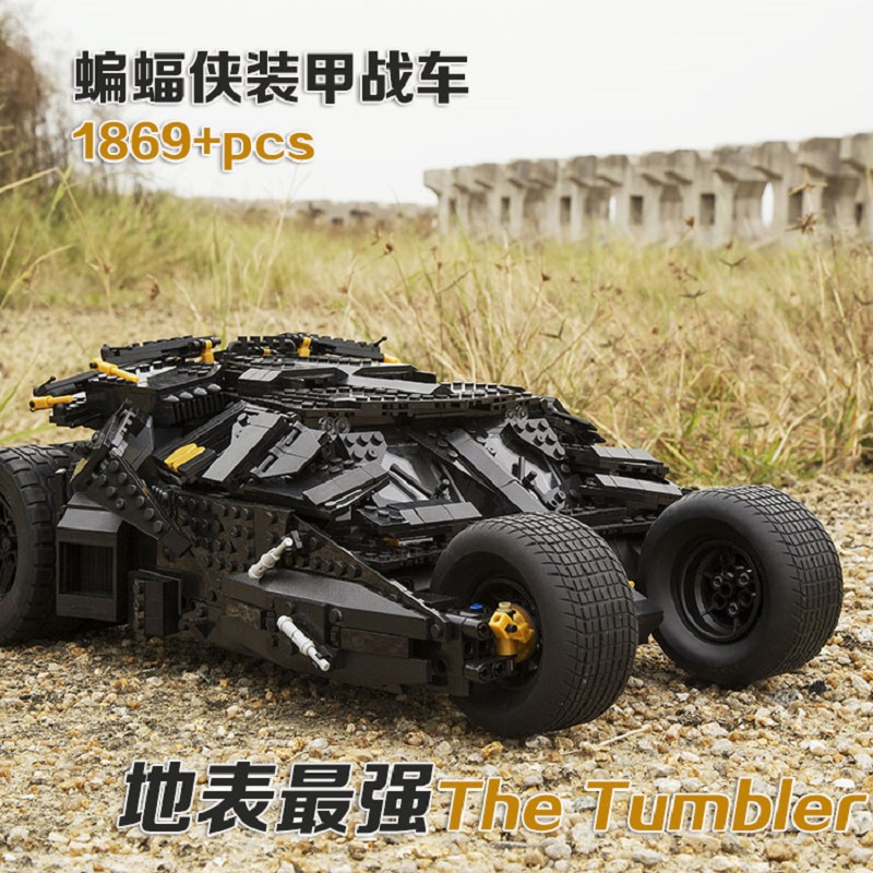 Decool 7111 1869pcs Super Heroes The Tumbler Blocks Bricks technic TOYs Gift DIY FIT for LEGO for Batman 76023 for lepin 34005 decool 7105 dc super heroes batman the tumbler building block brick tank toys for children boy game gift compatible lepin bela