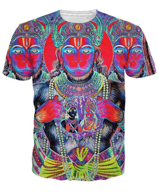Hindu God Hanuman T-Shirt