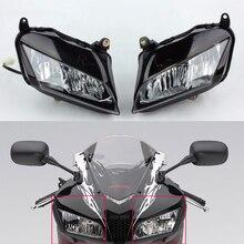 オートバイフロントヘッドライトヘッドライトホンダ CBR600RR CBR 600RR 600 RR 2007 2008 2009 2010 2011 2012 07 08 09 10 11 12