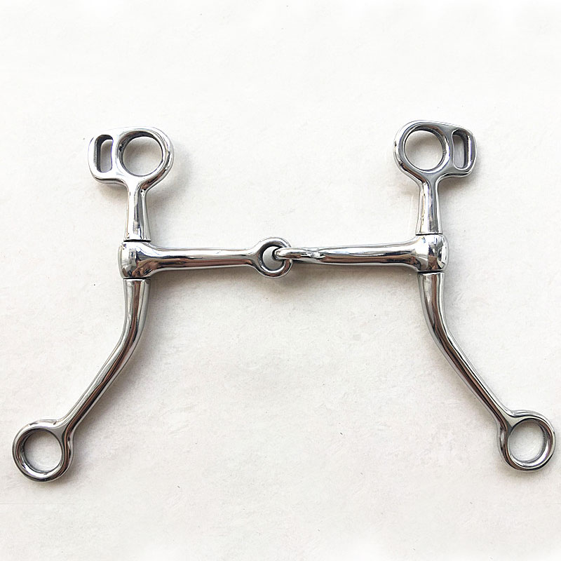 125mm Horse Bits English Snaffle Stainless Steel Mouthpiece Horse Riding Racing Bit Equestrian Cheval Equipment Paardensport C