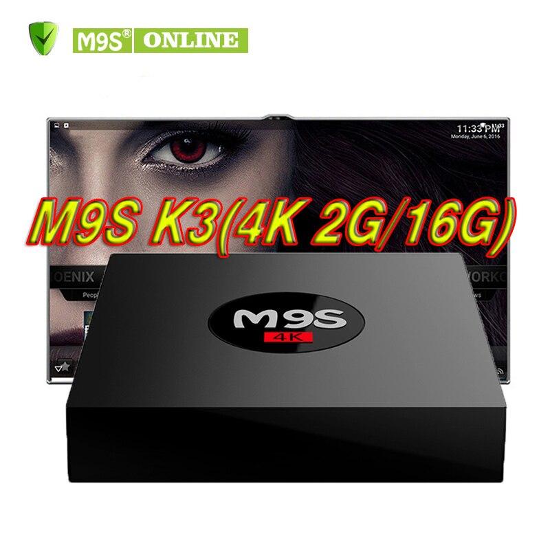 все цены на M9S K3 Android 6.0 TV Box 2GB 16GB Rockchip RK3229 Quad Core 4K WIFI Bluetooth HDMI Media Player KD17.3 TV OTT Set Top IPTV Box онлайн