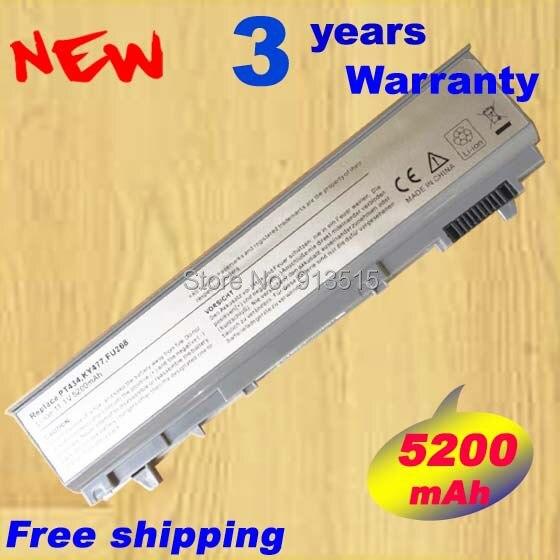 [Special Price] New 6 CELLS Laptop Battery For Dell Latitude E6400 E6410 E6500 E6510 ,PT434 PT435 PT436 PT437+free shipping new laptop keyboard for dell latitude e5300 e5400 e5500 e5410 e5510 e6400 e6410 e6500 e6510 qwerty spanish espanol hispanic
