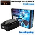 Freeshipping jockey martin luz usb 1024 controlador dmx 512 dj, martin lightjockey dmx de 3 pinos 1024 usb controlador de led luz do estágio