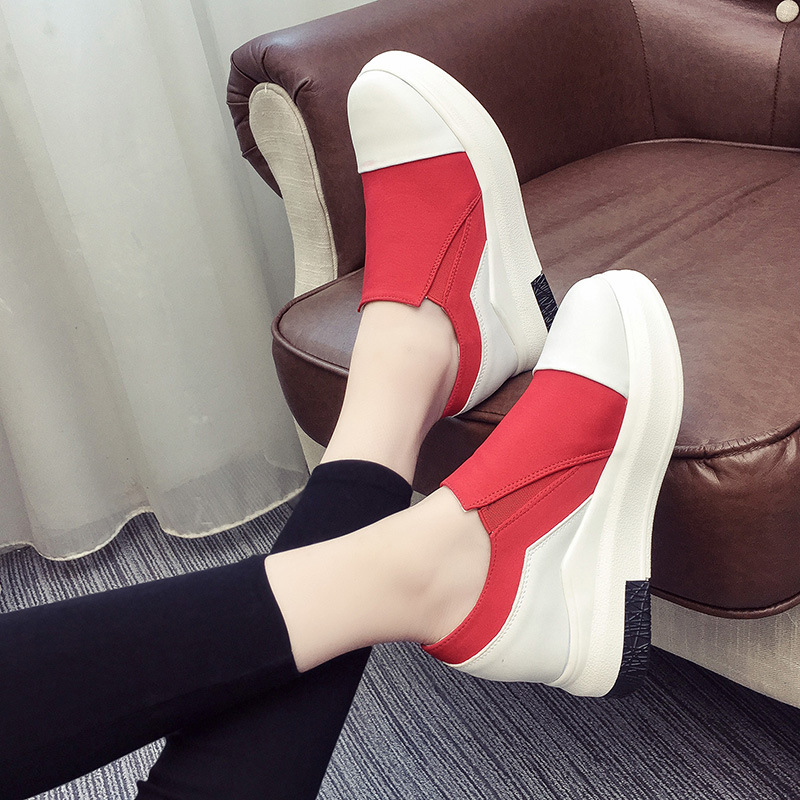 2017 spring  South Korean version of the new leisure shoe women's fashion platform loafers for women's shoes High heels 5 cm delta inverter accessories vfd b 15kw 18 5 22kw 30kw power driver board