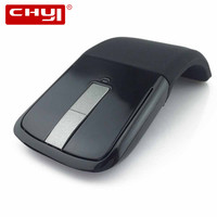 NEW 2 4Ghz Wireless Flexional Foldable Mouse Ultrathin Computer Mouse Folding Optical Slim Microsoft Touch Mouse
