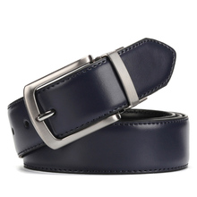 Reversible Buckle Leather Belt