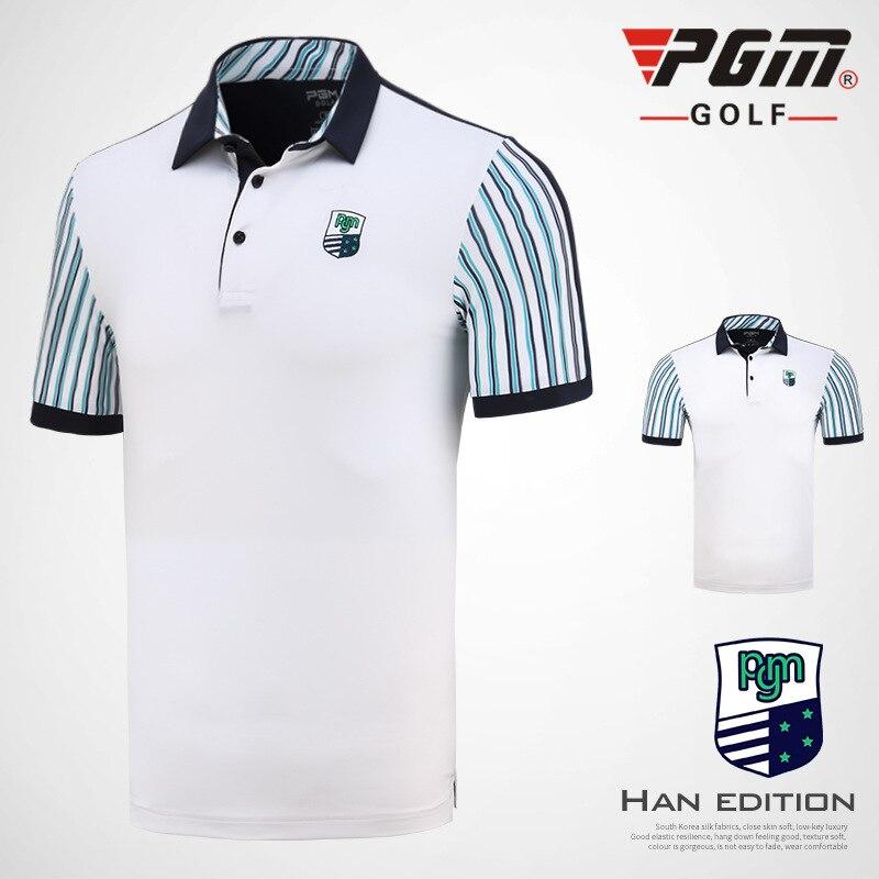 T-shirt de Golf PGM vêtements de Golf chemises de Golf pour hommes été respirant élastique à manches courtes uniformes de sport D0707