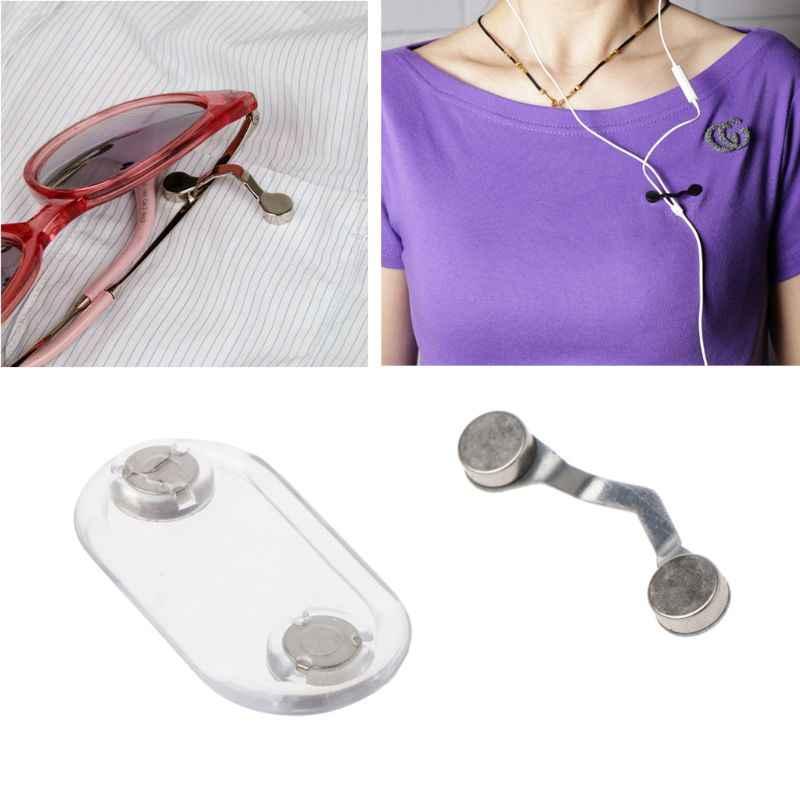 磁気ステンレス鋼眼鏡ホルダー眼鏡ホルダー安全のブローチリーダー
