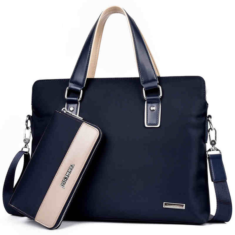 New Fashion Handbag Men Handbag Men's Shoulder Bag Briefcase Men Briefcase Bag Oxford Laptop Bag High Quality Male Business Bag