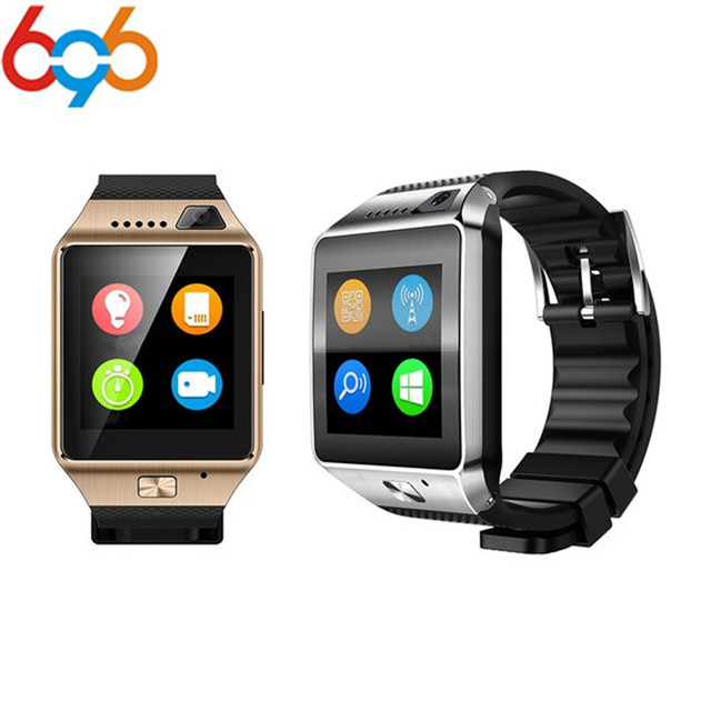 696 DZ09 Plus Smart Watch MTK2502 Android Multi languages Smartwatch Phone  Call SIM TF Camera for Samsung HUAWEI VS Y1 Q18 GT08