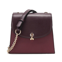 купить 2019 New Women Brand chains Small Square bag Female  Retro Shoulder bag Vintage Handbag Soft PU leather Designer Casual Purse дешево