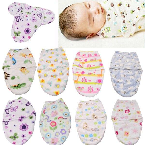 Bébé Literie Couverture Emmaillotage Bebe Doux Snuggle Couverture