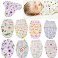 Baby Bedding  Blanket Swaddling Baby Soft Snuggle Swaddling Blanket Newborn Warm Sleeping Bags Swaddle Wrap 0-6M 8 Colors