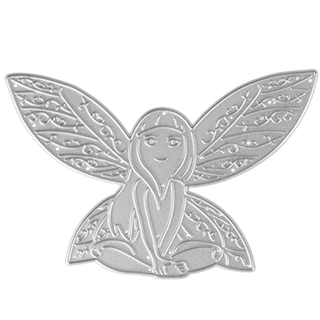 Fairy Angel Wings Metal Cutting Dies New 2018 Decorate Scrapbooking Craft Die Cuts Stamp Embossing Paper Card Stencil In From Home Garden On