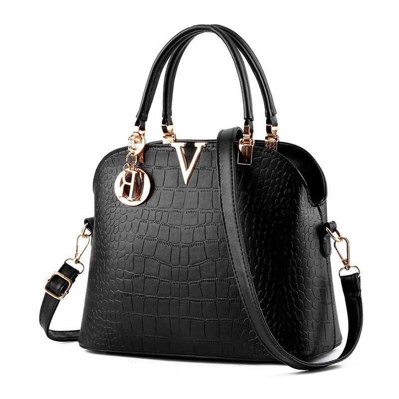 Autumn Shell Bag Fashion Shoulder Bag for Women handbag Alligator fashion vintage hot women leather handbags B097 drop все цены