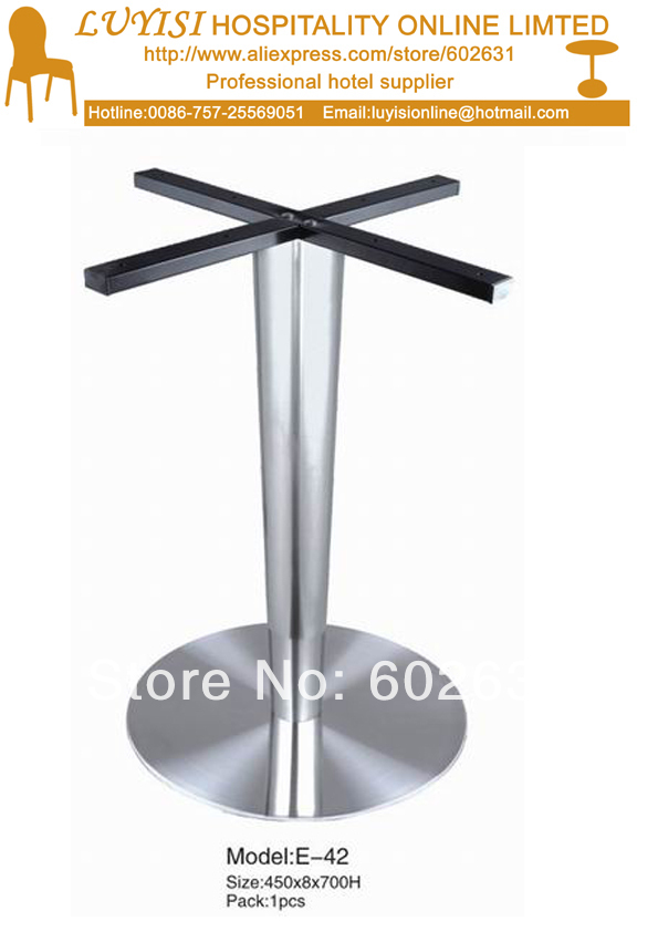 все цены на Stainless steel table base,good for indoor and outdoor,kd packing 1pc/carton,fast delivery