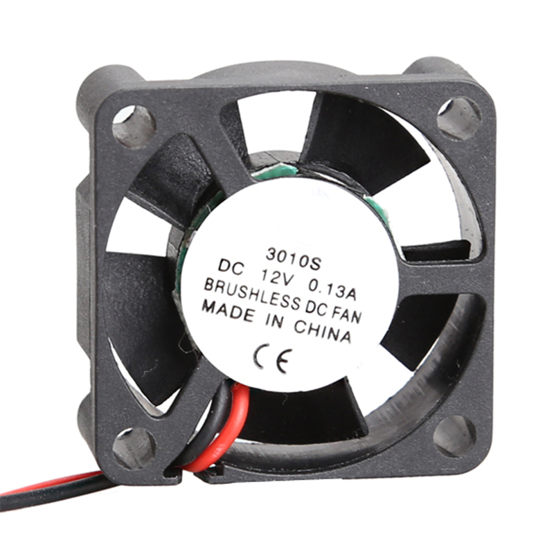 3010S 12V Brushless DC Cooler Fan Dual Ball Bearing Exquisite Mini Cooler 5 Blades Mini Cooling Radiator for PC Computer 30*30mm computer cooler radiator with heatsink heatpipe cooling fan for hd6970 hd6950 grahics card vga cooler