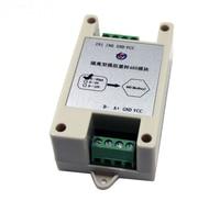 Free Shipping 1pc High precision Analog to RS485 Module input 4 20mA\0 5V\0 10V To output 485 modbus module 12 bit AD