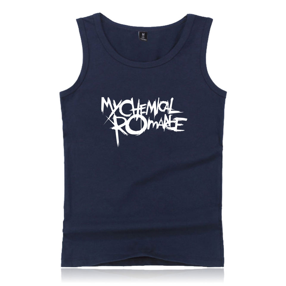 My Chemical Romance Tank Top Summer Fashion Casual Men T-shirts XXS To 4XL Rick Rock Band Tee Top Shirt Cool And Fashion
