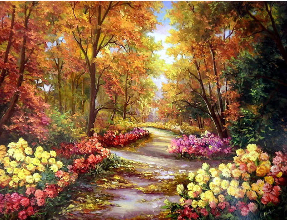 5d diy diamond painting cross stitch kit Diamond embroidery landscape RIVER mountain picture diamond mosaic pattern gift