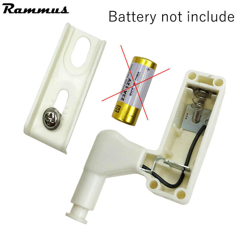 10pcs/Set 0.25W Kitchen Bedroom Living Room Cabinet Cupboard Closet Wardrobe Hinge LED Light DIY Night Lamp White Color