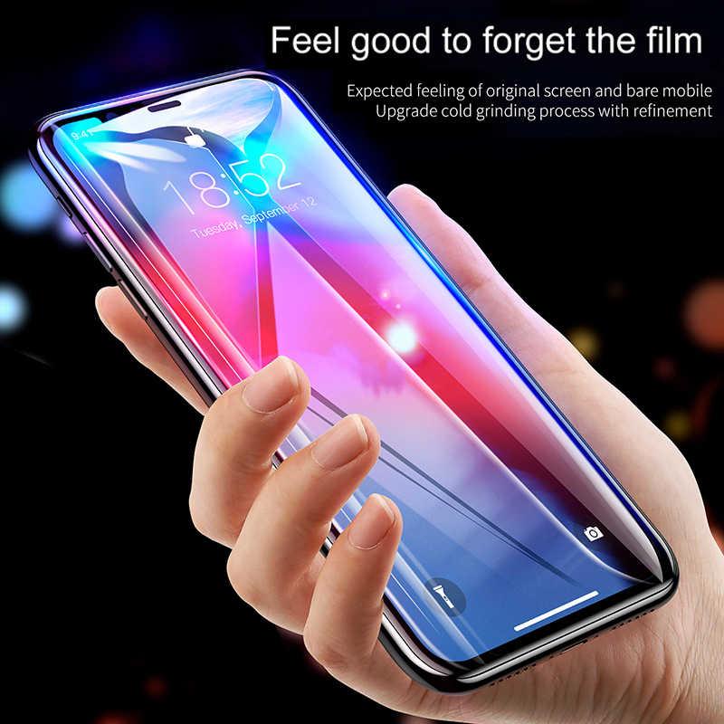 Baseus 0.3mm protetor de tela vidro temperado para iphone 11 pro xs max x xr se 2020 capa de vidro protetor de proteção para iphone 11pro max