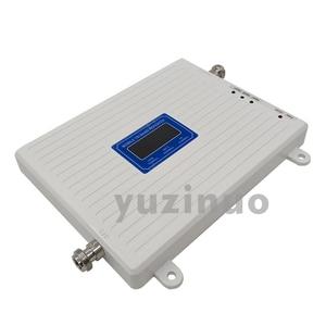 Image 5 - 2G 3G 4G Tri Band Booster GSM 900 + (B1) UMTS WCDMA 2100 + (B7) FDD LTE 2600 טלפון סלולרי משחזר 900 2100 2600 נייד אות מגבר