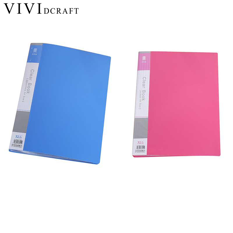 20p/30p/60p File Document Folder PP Papelaria Papel A4 Paper File Folder Pasta Escolar Document Bag Organizer Office Ring Binder 8 packets file folder a4 pu ring binder display notebook folders with calculator document bag organizer business office supplies