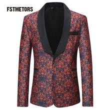 2018 high quality men's fashion brand striped blazer jacket style leisure cultivate one's morality men Portland men coat