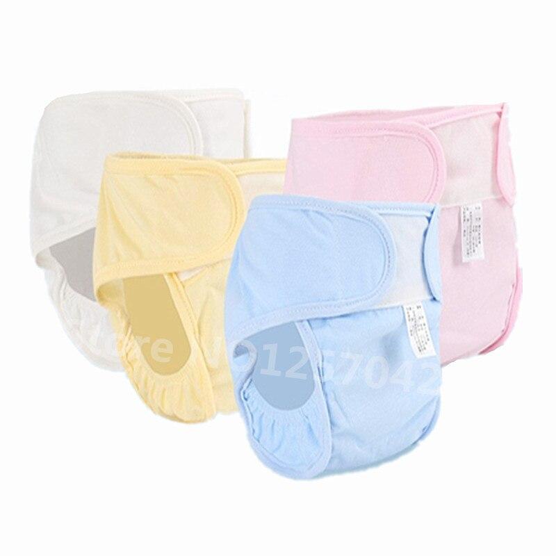 2 Unids Algodón Reutilizable Pañales Del Bebé Cubierta Para El - Pañales y entrenamiento para ir al baño - foto 1