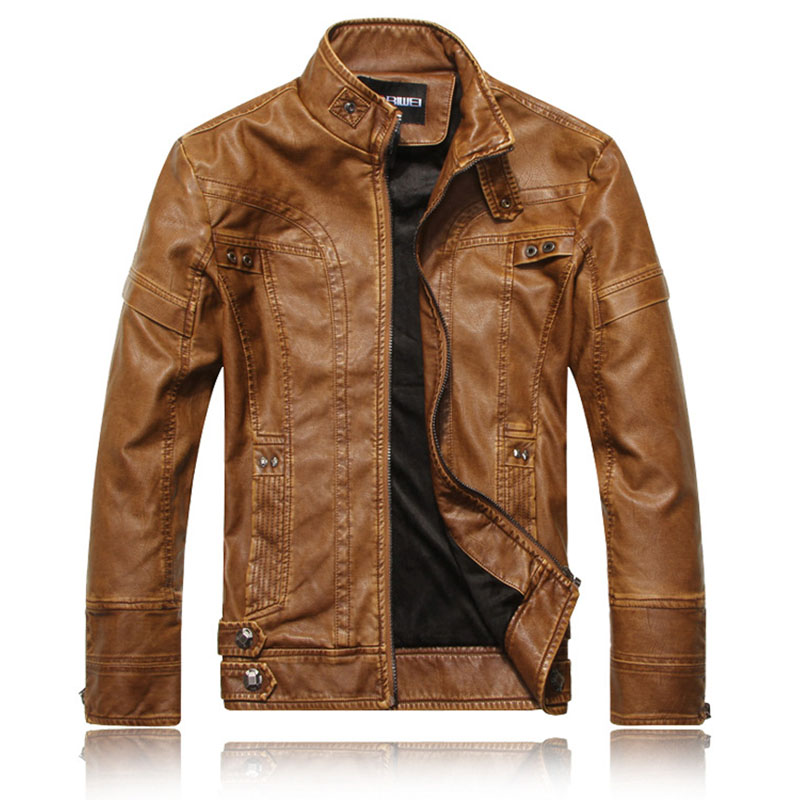 Light Brown Leather Jackets - Jacket