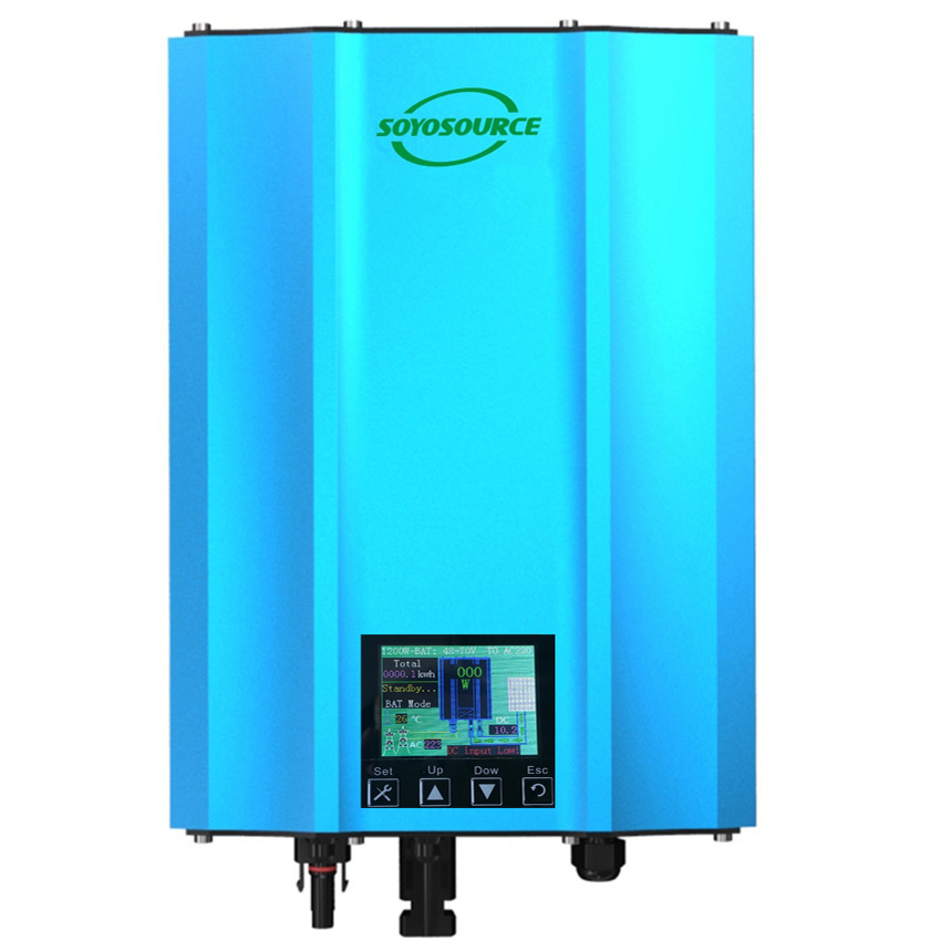 Новая функция водонепроницаемый 1200 Вт сетевой Инвертор постоянного тока в AC 110 В 220 В изоляции безопасность, высокая эффективность чистая си...
