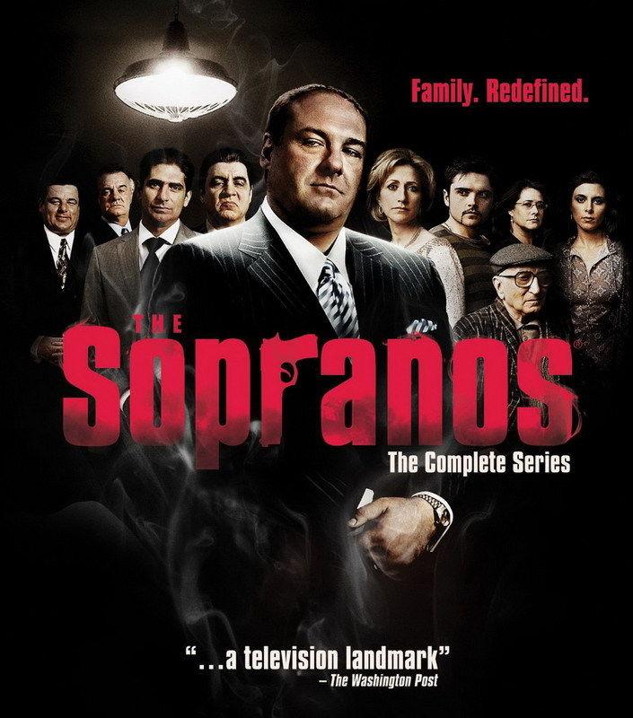DY01204 The Sopranos James Gandolfini TV Series HBO 14