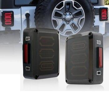 LED Tail Lights for Jeep Wrangler JK Brake Reverse Turn Signal Lamp Rear Parking Stop Back Up Lamp