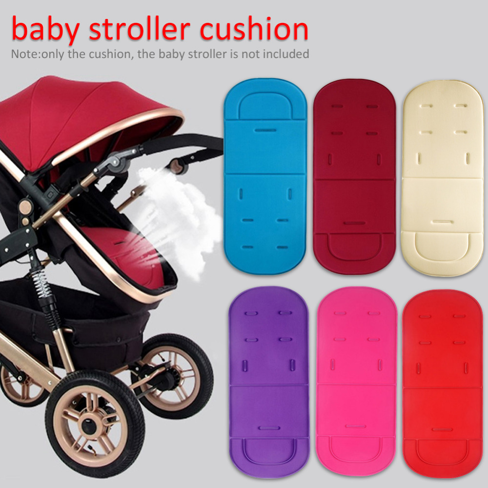 New Comfortable Baby Stroller Pad Four Seasons General Soft Seat Child Cart Seat Mat Kids Pushchair Cushion Mat  Baby Stroller