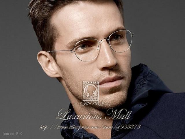 5a1638a77b8 Denmark Eyewear Brand Super Light Retro Vintage Lindberg glasses frame  Oculos eyeglasses myopia reading glasses men and women