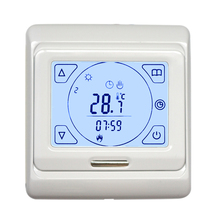 LCD Programmable Floor Heating Thermostat Controller Temperature Touch Screen Tester Tools New недорого