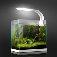 5W/10W/15W LED Super Slim Aquarium Light Lighting Plants Grow Light Aquatic Plant Lighting Waterproof Clip-on Lamp For Fish Tank sunsun ads aquarium led lighting aquatic plant grass fish tank led light super bright lamp aquarium light 12 24w grow lampe 220v