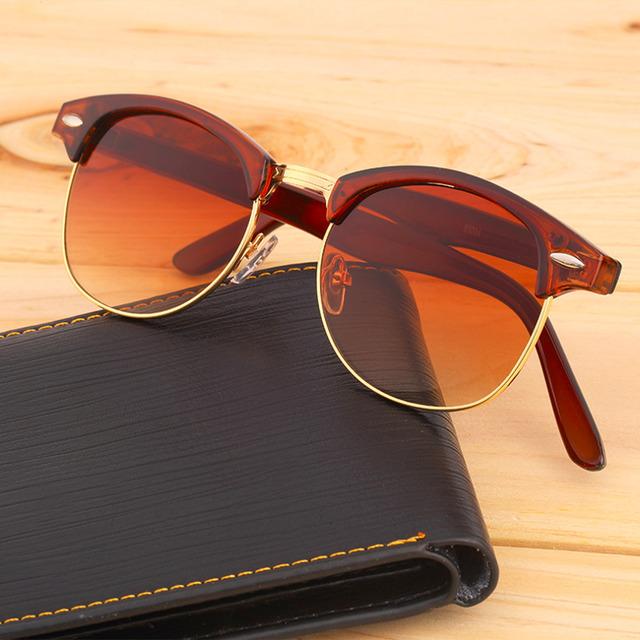 Retro Golden Mirror Sunglasses