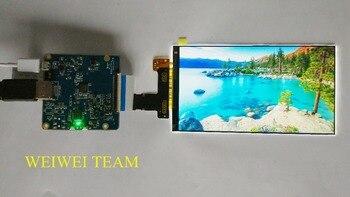 5,5 pulgadas 2 K LS055R1SX04 pantalla LCD HDMI a MIPI Placa de controlador  kit para ANYCUBIC de
