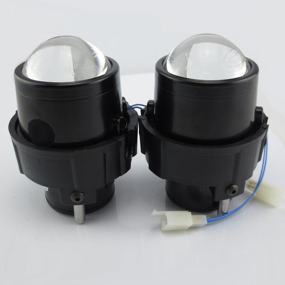HID Bi-xenon Halogen Bifocal high low beam Projector Fog Lights Lens Lamps holder for nissan juke note NV200 murano hireno headlamp for mercedes benz w163 ml320 ml280 ml350 ml430 headlight assembly led drl angel lens double beam hid xenon 2pcs