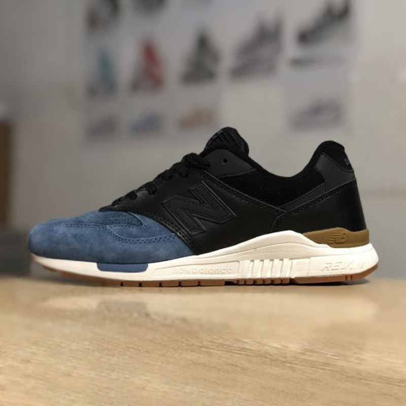 NEW BALANCE NB840 men s Classic Badminton Shoes Red Flat Shoes Outdoor sneakers Blue Black Footwear