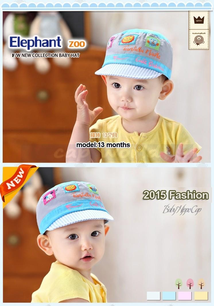 ed761d28271 Cotton Baby Hats Girls Spring Newborn Summer Hats Children s Cap Baby Flat  Hat For Girls Beautiful Korean Boy Sport Caps C803