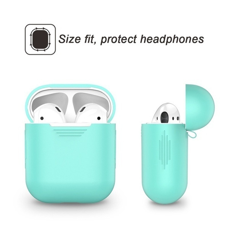 Image 4 - Headphone Housings/Cushions/Bag/Case/Box/Cases For Apple Airpods Headphone Case Airphone Case Earpods Headphone Dust plug-in Earphone Accessories from Consumer Electronics