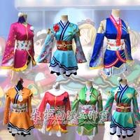 Love Live The School Idol Movie Kousaka Honoka Cosplay Costume Kaguya No Shiro De Odoritai Crew Kimono Fancy Party Dress Outfits