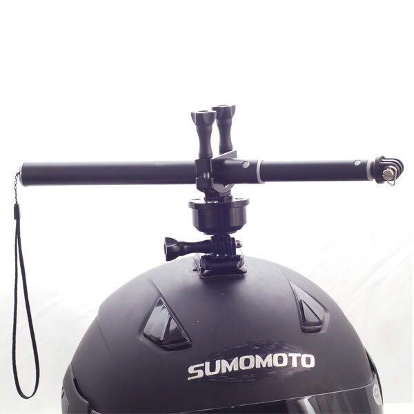 360 Camera Helmet Mount   helmet